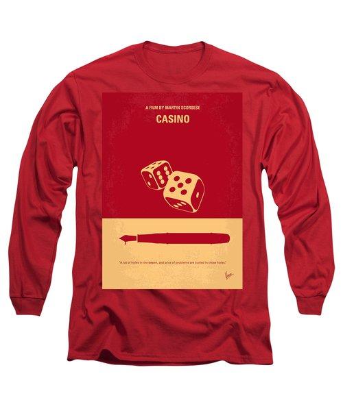 No348 My Casino Minimal Movie Poster Long Sleeve T-Shirt