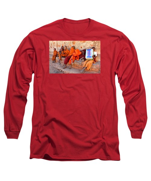 Novice Buddhist Monks Long Sleeve T-Shirt