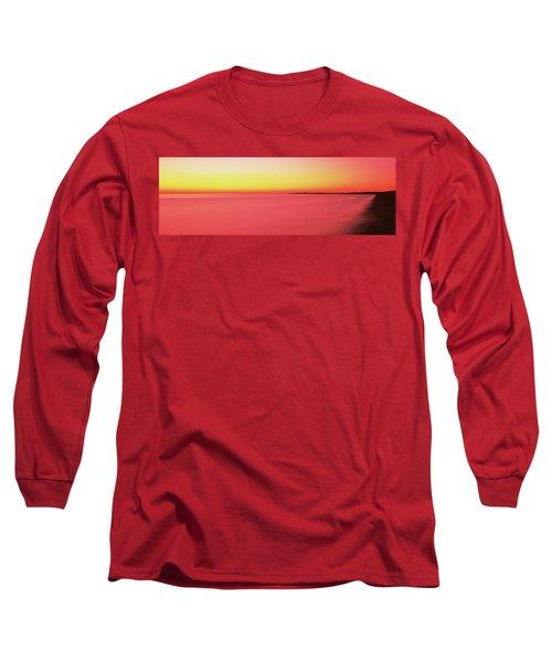 Ocean At Sunset, Provincetown, Cape Long Sleeve T-Shirt