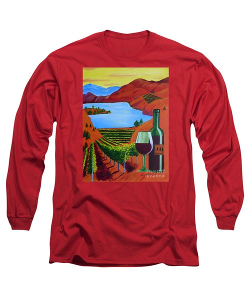 Okanagan Wine Country Long Sleeve T-Shirt