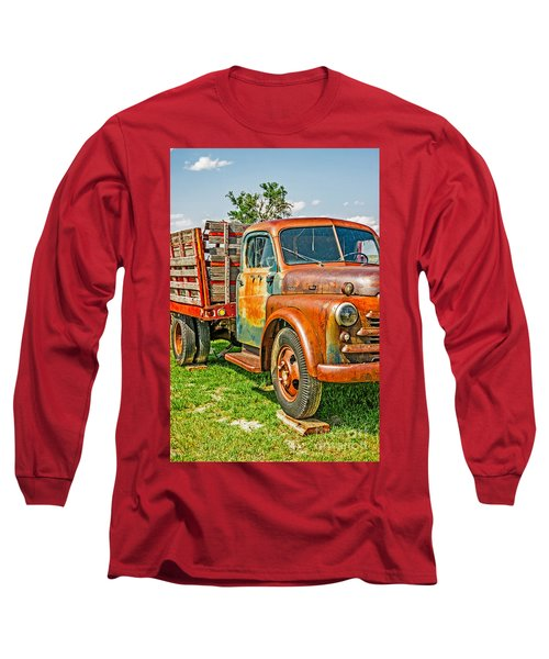 Long Sleeve T-Shirt featuring the photograph Old Dually by Sue Smith