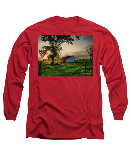 Old Shed Long Sleeve T-Shirt by Savannah Gibbs