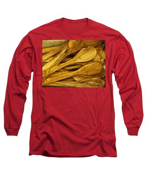 Olive Wood Long Sleeve T-Shirt