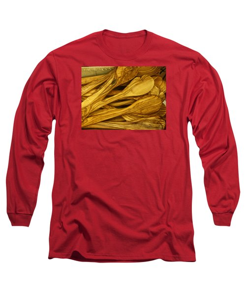 Olive Wood Long Sleeve T-Shirt
