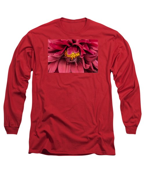 Long Sleeve T-Shirt featuring the photograph On Fire by Edgar Laureano