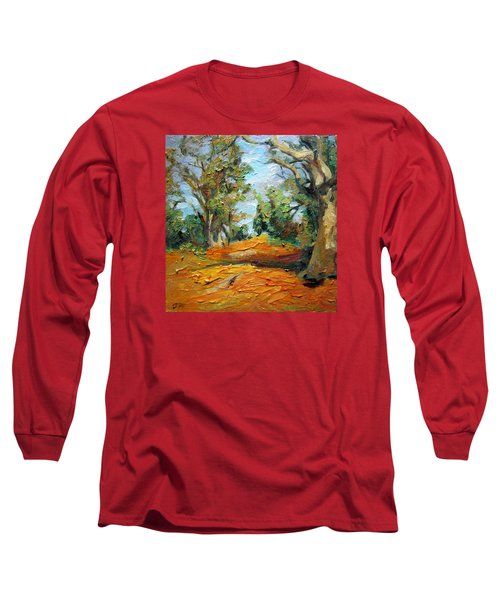 On The Forest Long Sleeve T-Shirt by Jieming Wang