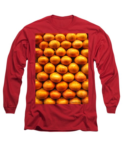 Onions Long Sleeve T-Shirt