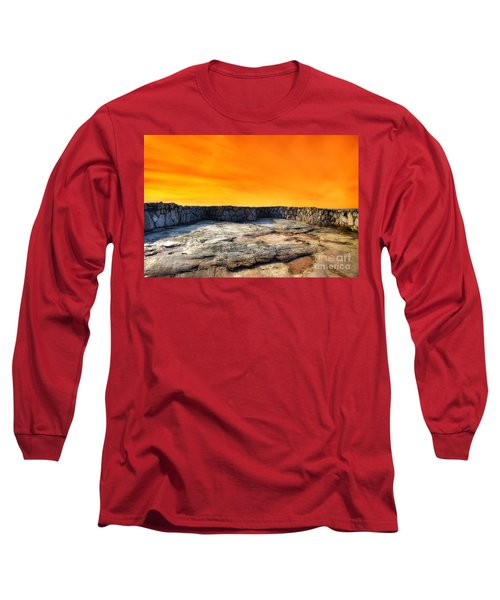 Orange Blaze Long Sleeve T-Shirt