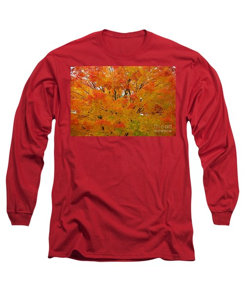 Long Sleeve T-Shirt featuring the photograph Orange Crush by Robert Pearson