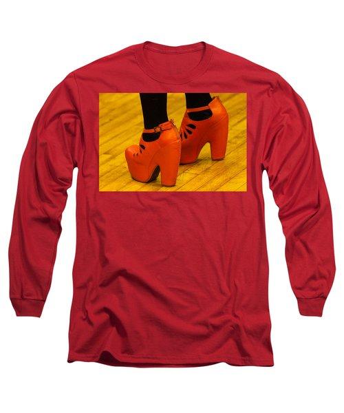 Orange Pair Long Sleeve T-Shirt