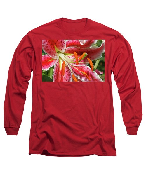 Oriental Lily Long Sleeve T-Shirt