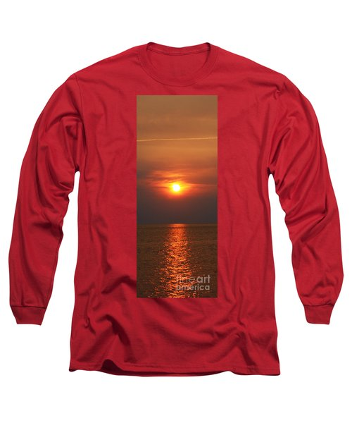 Long Sleeve T-Shirt featuring the photograph Outer Banks Sunset by Tony Cooper