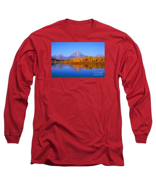 Oxbow Bend In Grand Teton Long Sleeve T-Shirt