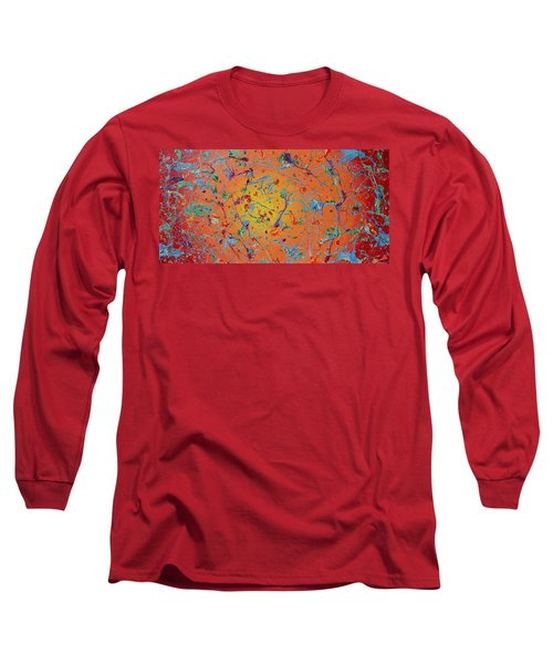 Paint Number Thirty Seven Long Sleeve T-Shirt