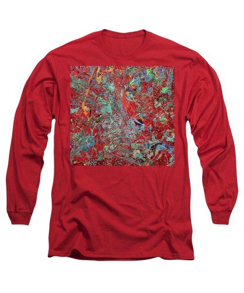 Paint Number Twenty Five Long Sleeve T-Shirt