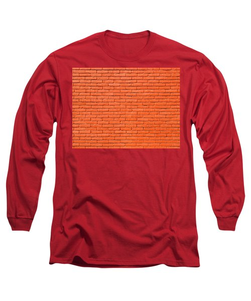 Painted Brick Wall Long Sleeve T-Shirt