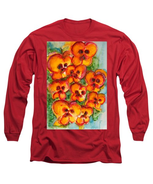 Pansies Love Us Long Sleeve T-Shirt