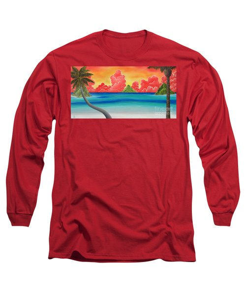 Paradise Panorama Long Sleeve T-Shirt