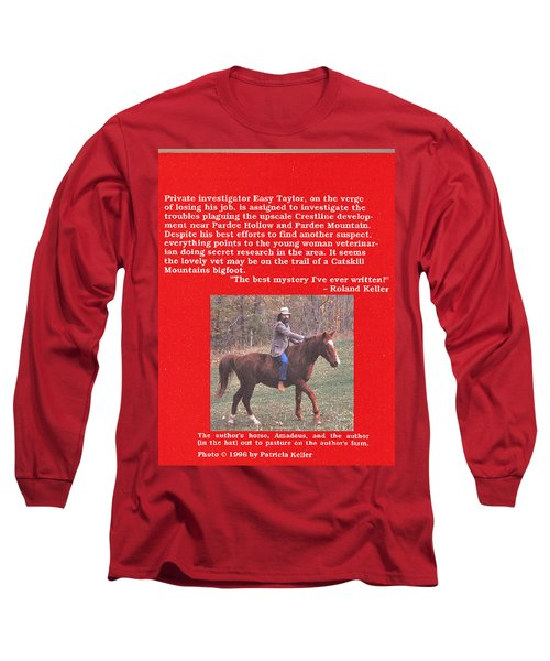 Pardee Holler The Back Cover Long Sleeve T-Shirt by Patricia Keller