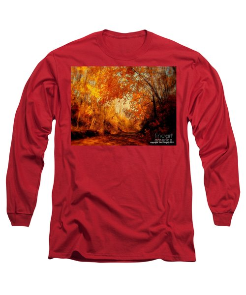 Path Of Gold Long Sleeve T-Shirt