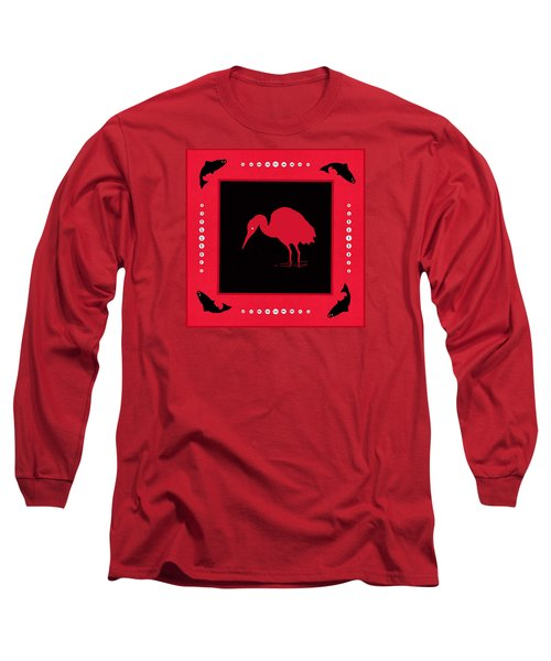 Long Sleeve T-Shirt featuring the photograph Peace And Plenty Button Blanket by I'ina Van Lawick