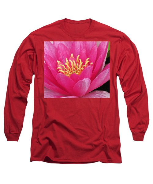 Perry's Fire Opal Water Lily Long Sleeve T-Shirt