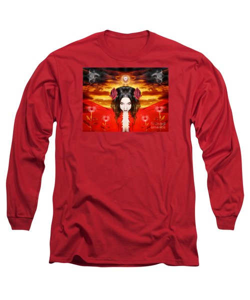 Persephone Do I Invoke Long Sleeve T-Shirt by Heather King