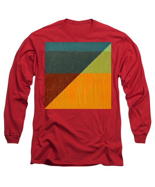 Perspective In Color Collage 4 Long Sleeve T-Shirt