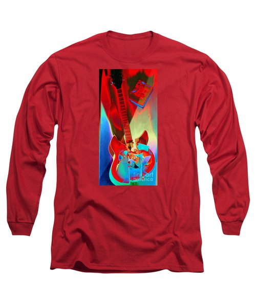 Pete's Guitar Long Sleeve T-Shirt