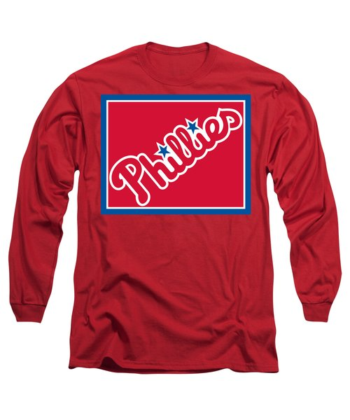 Philadelphia Phillies Baseball Long Sleeve T-Shirt