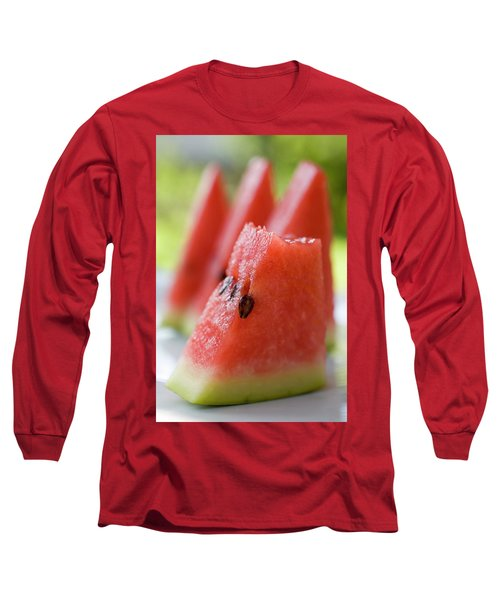 Pieces Of Watermelon Long Sleeve T-Shirt