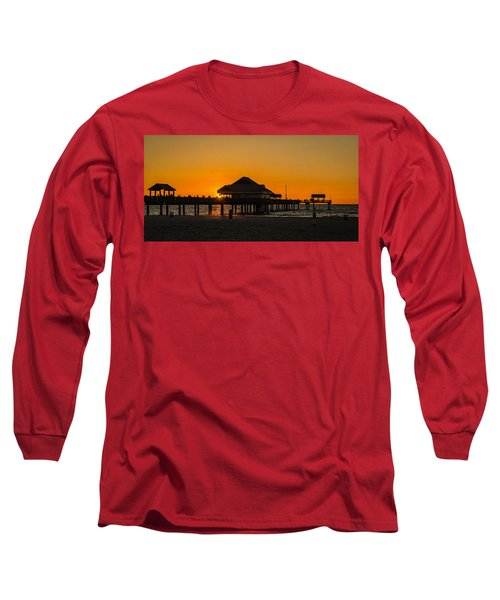 Pier 60 Sunset Long Sleeve T-Shirt