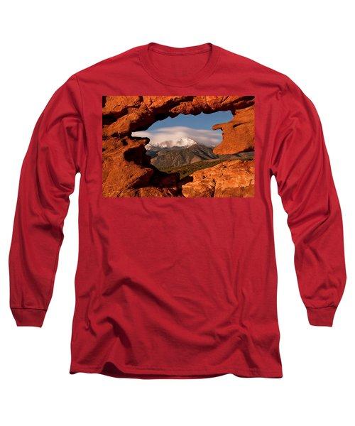 Pikes Peak Framed Long Sleeve T-Shirt