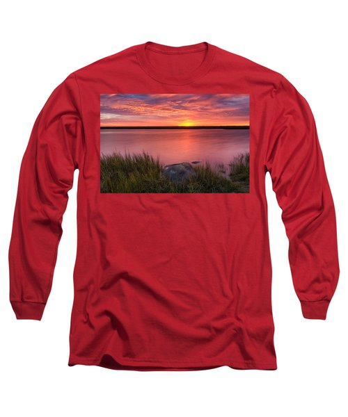 Pink Marsh Long Sleeve T-Shirt
