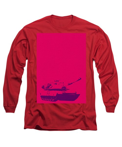 Pink Tank Long Sleeve T-Shirt