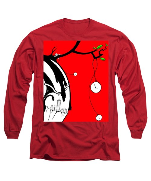 Playing With Time Long Sleeve T-Shirt