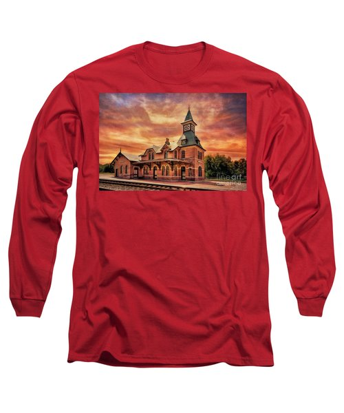 Point Of Rocks Train Station  Long Sleeve T-Shirt