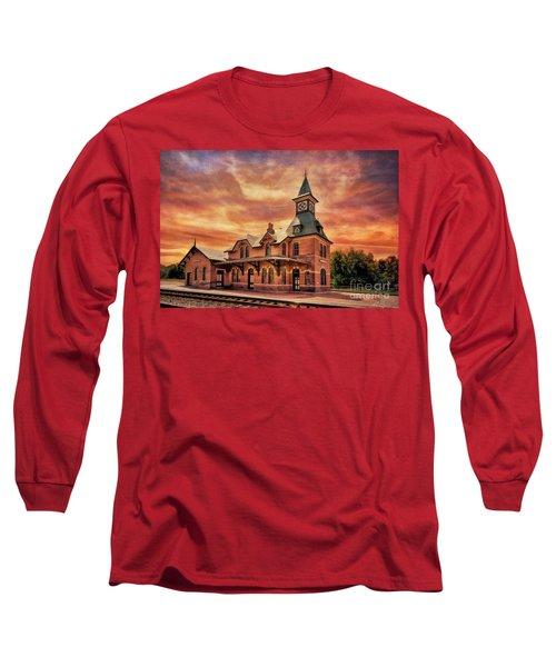 Point Of Rocks Train Station  Long Sleeve T-Shirt