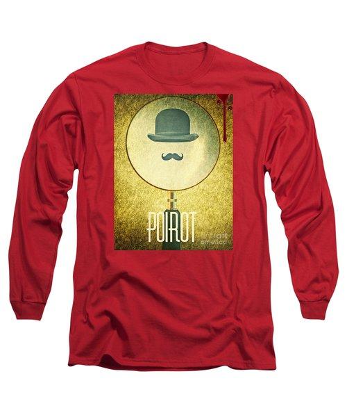 Poirot Long Sleeve T-Shirt