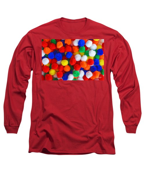 Pom Poms Long Sleeve T-Shirt