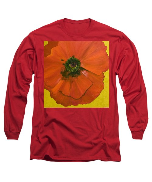 Poppy Long Sleeve T-Shirt