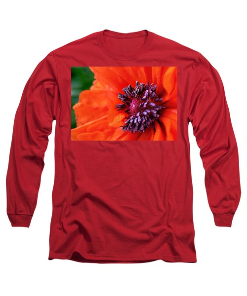 Poppy's Purple Passion Long Sleeve T-Shirt