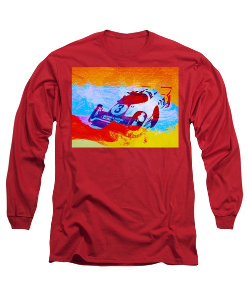 Porsche 917 Martini And Rossi Long Sleeve T-Shirt