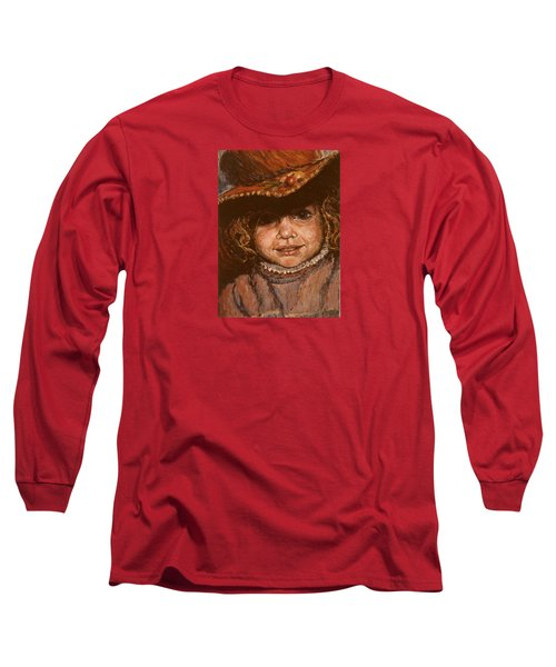 Portrait Of Leticia Long Sleeve T-Shirt