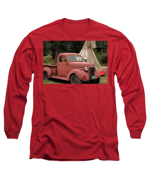 Postcard From Yesterday Long Sleeve T-Shirt by Lynn Sprowl