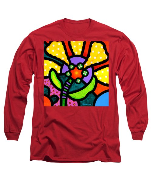 Prairie Sunflower Long Sleeve T-Shirt