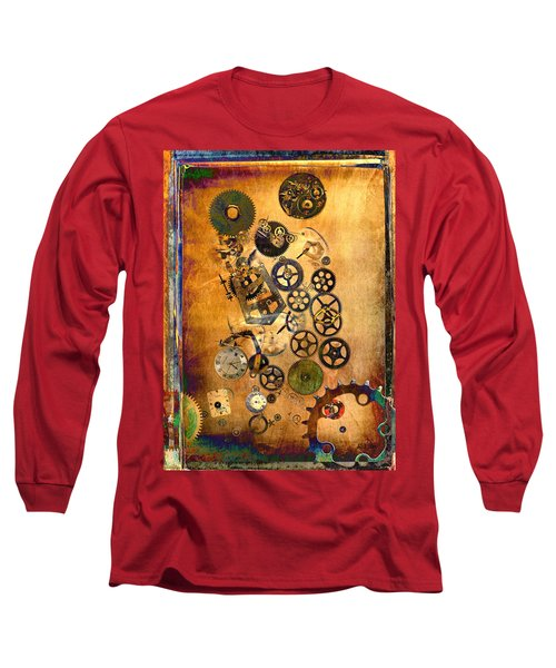 Present Long Sleeve T-Shirt by Fran Riley