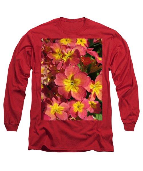 Primrose Flowers Long Sleeve T-Shirt