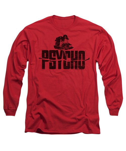 Psycho - House On The Hill Long Sleeve T-Shirt