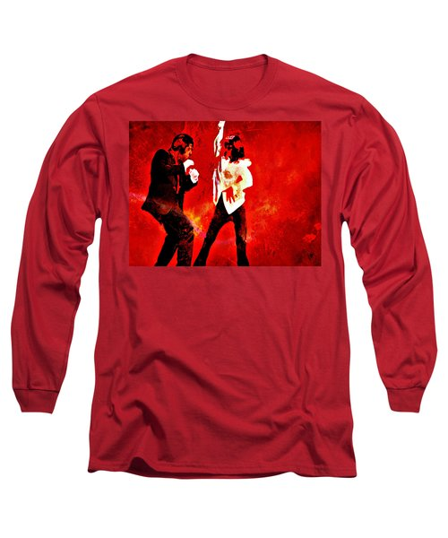 Pulp Fiction Dance 2 Long Sleeve T-Shirt by Brian Reaves